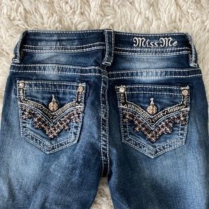Girls size 12 Miss Me Boot Cut Jeans